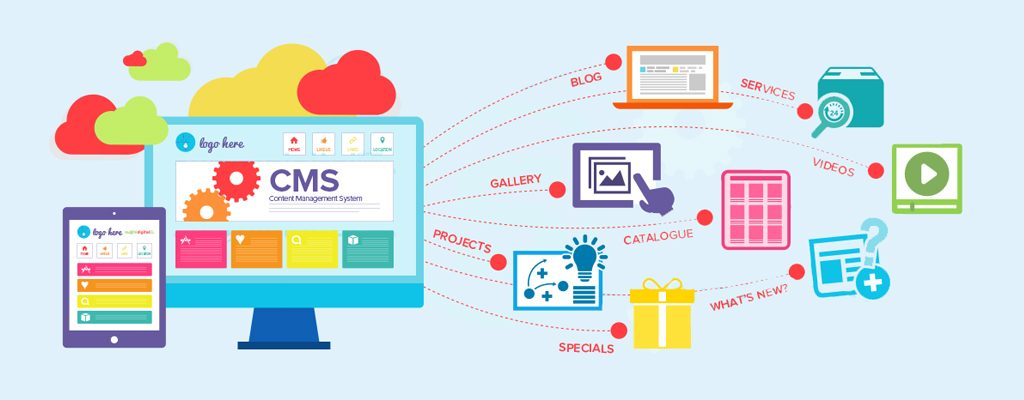 An Adept Role of CMS in Web Services